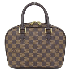 Genuine Louis Vuitton Damier Sariamini Handbags Ebene Model Number: N51286 Bag Leather