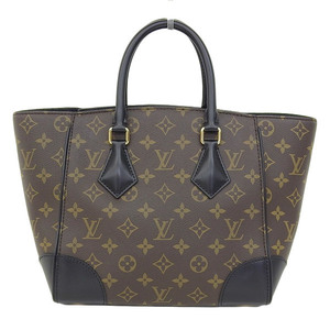 Genuine Louis Vuitton Monogram Phoenix PM 2way Handbag Noir Part No: M41538 Bag Leather