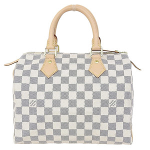 Authentic Louis Vuitton Damier Azur Speedy 25 Handbag Model: N41371 Bag Leather