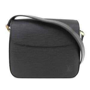 Genuine article LOUIS VUITTON Louis Vuitton Epi Busi Noir pattern number: M52202 Bag leather