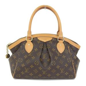 Real LOUIS VUITTON Louis Vuitton Monogram Tivoli PM Handbag Model: M40143 Bag Leather