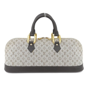 Real LOUIS VUITTON Louis Vuitton Monogram Mini Almarron Model: M92205 Bag Leather