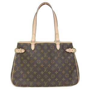 Authentic Louis Vuitton Monogram Batignoles Horizontal Tote Bag Model: M51154 Leather