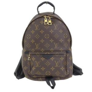 Real LOUIS VUITTON Louis Vuitton Monogram Palm Springs PM Rucksack Model: M41560 Bag Leather