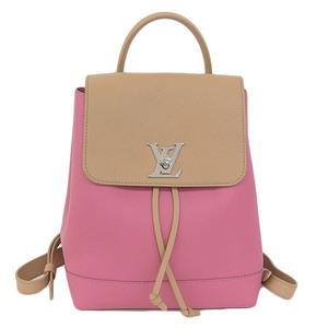 Genuine Louis Vuitton Rockmy Backpack Rucksack Rose Model: M43171 Bag Leather