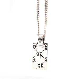 Gucci Ghost Silver 925 Unisex Casual Pendant (Silver)