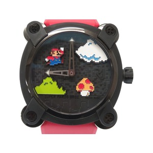 Roman Jerome RJ X Super Mario Bros. 85 World Limited Automatic Watch Titanium / Rubber Black Replacement with Belt 0194 ROMAIN JEROME Men's