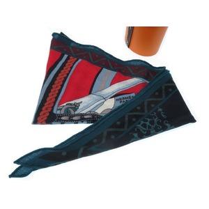 Hermes Los Angel MM Berlin horse-drawn scarf cashmere 0097 HERMES ladies'