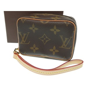 Like new Louis Vuitton Monogram Truth Wapiti Pouch Digital camera case M58030 LV 0141 LOUIS VUITTON