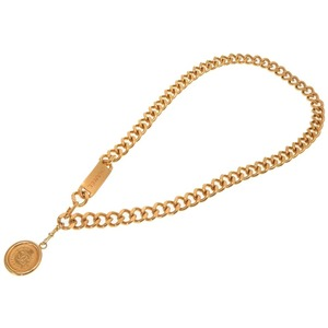 Chanel Vintage Gold Chain Coco Mark Belt 0251 CHANEL