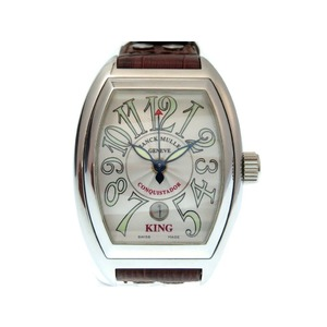 Frank Muller Conquistado Automatic 8001 SC KING watch self-winding silver 0131 FRANCK MULLER Men's