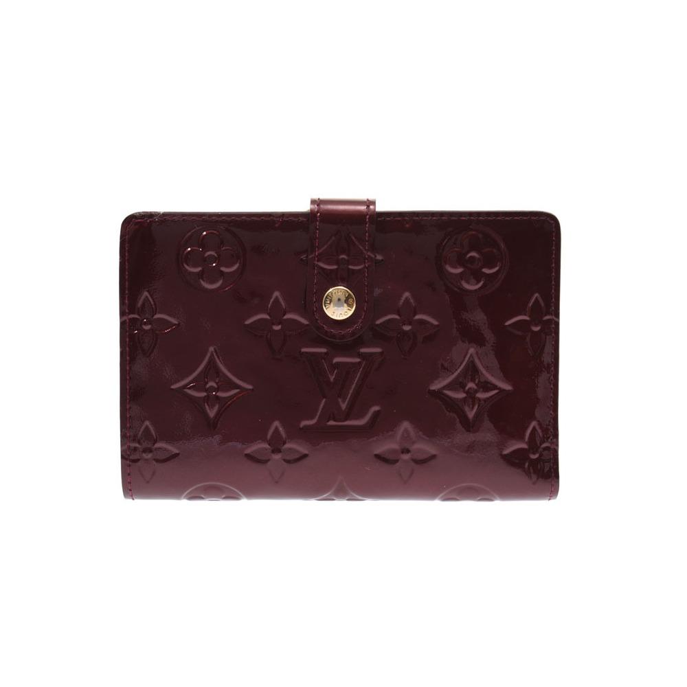 ルイ・ヴィトン(Louis Vuitton) ルイヴィトン ヴェルニ ポルトフォイユヴィエノワ ルージュフォーヴィスト M91524 レディース 財布 ABランク LOUIS VUITTON 中古 銀蔵