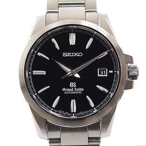 SEIKO Seiko Men's Wrist Watch Grand SBGR 031 Black (Black) Face Automatic Winding