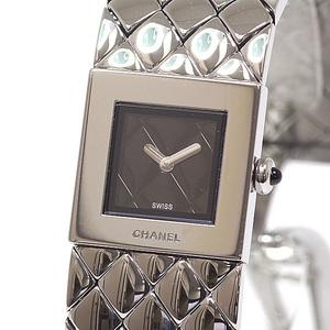 CHANEL Chanel Women's Watch Matrasse Bangle H0009 Black (Black) Dial Quartz
