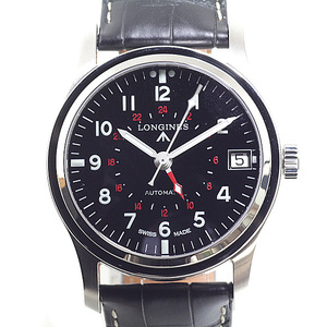 LONGINES Longines Men's Watch Heritage GMT Ref. L 2.831.4.53.0 Automatic Black (Black) Similar to Dial