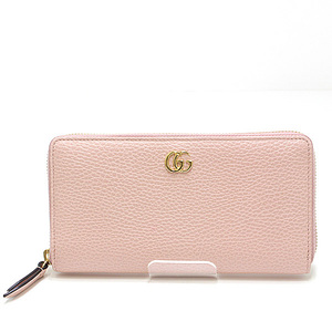 GUCCI Gucci Petit Mermont Round Zipper Long Wallet 456117 PERFECT PINK as well