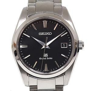 SEIKO Seiko Men's Watch Grand SBGX 061 Black (Black) Dial Quartz