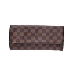 ルイ・ヴィトン(Louis Vuitton) ルイヴィトン ダミエ ポシェットツインGM SPオーダー ブラウン N51851 レディース 本革 バッグ Aランク LOUIS VUITTON 中古 銀蔵
