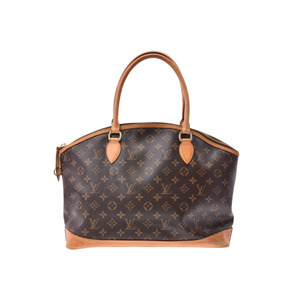 ルイ・ヴィトン(Louis Vuitton) ルイヴィトン モノグラム ロックイットオリゾンタル ブラウン M40104 レディース ハンドバッグ Cランク LOUIS VUITTON 中古 銀蔵