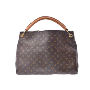 dea6a454e62e Louis Vuitton Monogram Artsi MM Brown M40249 Ladies  leather B rank LOUIS  VUITTON with used