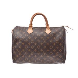 ルイ・ヴィトン(Louis Vuitton) ルイヴィトン モノグラム スピーディ35 ブラウン M41524 レディース 本革 ハンドバッグ Bランク LOUIS VUITTON 中古 銀蔵