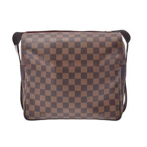 ルイ・ヴィトン(Louis Vuitton) ルイヴィトン ダミエ ナヴィグリオ ブラウン N45255 メンズ レディース 本革 ショルダーバッグ ABランク LOUIS VUITTON 中古 銀蔵