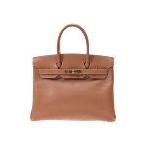Hermes Birkin 30 Natural G Hardware □ E Engraved Ladies Kushubel Handbag B Rank HERMES Used Ginza
