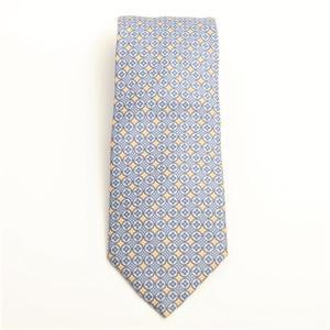 ルイ・ヴィトン(Louis Vuitton) メンズ ネクタイ シルク ロゴ ライトブルー