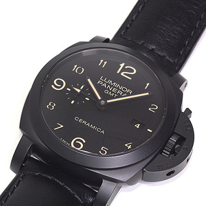 PANERAI Panerai Luminol 1950 3DAYS GMT PAM 00444 Black (Black) Dial Number O (made in 2012)
