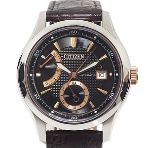 CITIZEN Citizen Mens Watch Signature Collection Grand Classic NB 3016 - 05 E Black (Black) Dial
