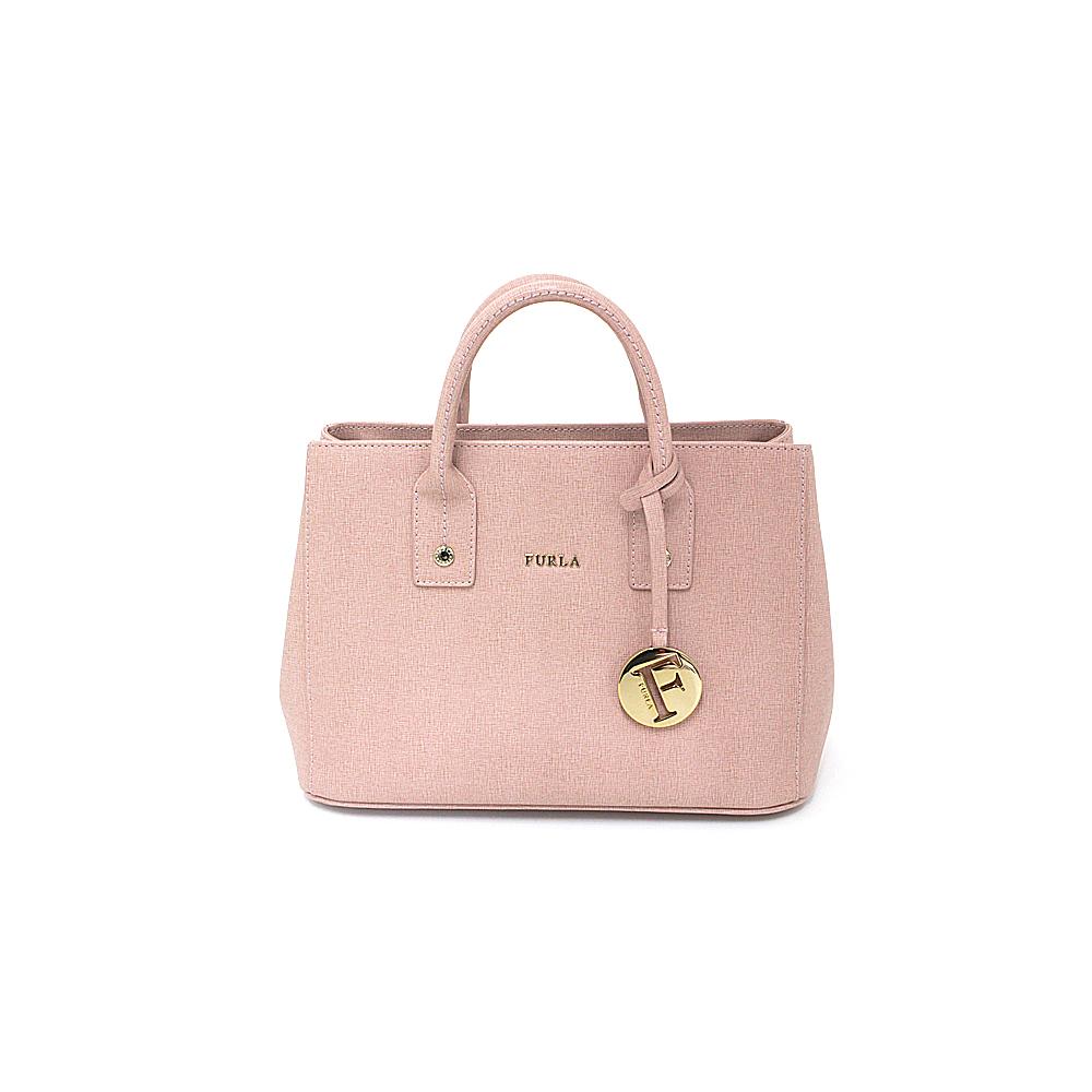 Furla FURLA 2 WAY Handbag Shoulder Bag Light Pink Gold Hardware A Rank