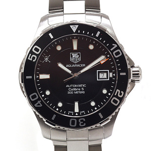 TAG Heuer Men's Watch Aqua Racer One Piece Limited Model 250 pieces WAN 2114 Black (Black) Dial