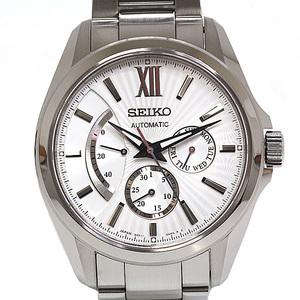 SEIKO Seiko Men's Watch Brightz Mechanical Automatic 6R21-00 W0 Silver dial