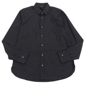 Real Saint Laurent Paris Mens Dress Shirt Black 40