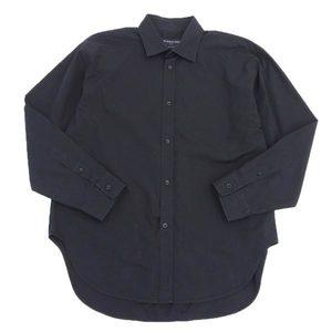 Real BALENCIAGA Balenciaga Men's Shirt Y Black 39