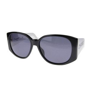 Genuine CHANEL Chanel Side Logo Bicolor Sunglasses