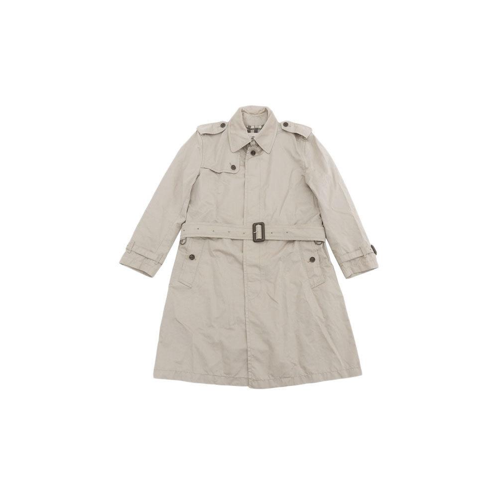 Authentic BURBERRY Burberry men's trench coat gurege 50