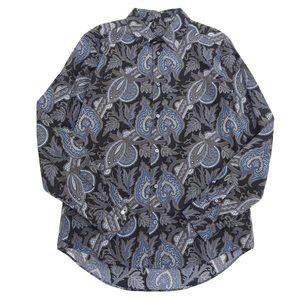 Authentic LOUIS VUITTON Vuitton Paisley Shirt Men XL 9 RM 132 M