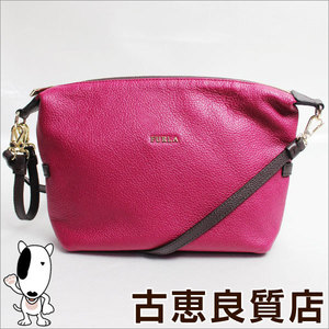 Furla FURLA leather pouch bag shoulder 194566 by color