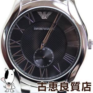 MT1338 EMPORIO ARMANI Emporio Armani AR 11086 Black Dial Watch Quartz Valente VALENTE