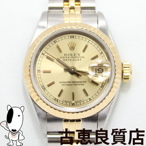 ROLEX Rolex Datejust 69173 Oyster Perpetual Watch Ladies Automatic L72 **** ※ OH in our designation contractor · finished hon