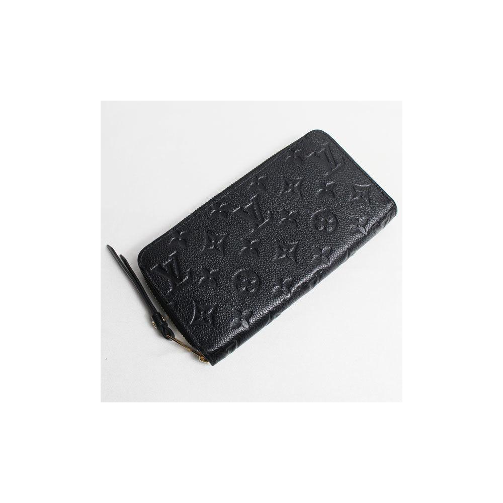 info for d4168 d4836 LV lv Louis Vuitton LOUIS VUITTON M61864 Monogram Unplant Zippy Wallet  Round Zipper Long Purse Noir | eLady.com