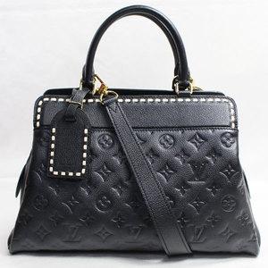 LV lv Louis Vuitton LOUIS VUITTON Vosges Handbag 2 WAY Shoulder M 4 1491 Unplant Noir Black