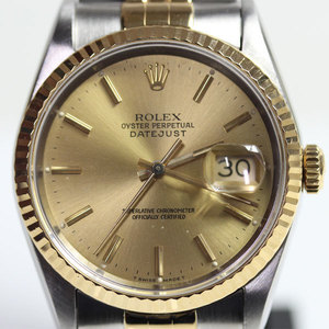 MT1509 Rolex ROLEX Datejust Men's Watch Automatic Winding X Number 16233 OH-finished in our designated manufacturer