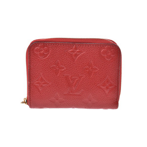 Louis Vuitton Unplant Zippy Coin Perth Sleeve M60740 Genuine Leather Women's Mens Case AB Rank LOUIS VUITTON Used Ginza