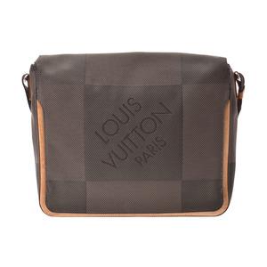 Louis Vuitton Damier Jean Mesaje gray series M93030 Mens tail shoulder bag B rank LOUIS VUITTON second hand silver storage