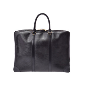 Louis Vuitton Epovoyantge Black / Green G Hardware M40321 Men's Business Bag Document B Rank LOUIS VUITTON Used Ginza