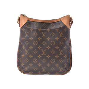 1a8d6f64be7d85 Louis Vuitton Monogram Odeon PM Brown M56390 Ladies' real leather shoulder  bag B rank LOUIS