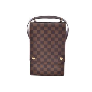 Louis Vuitton Damier Portobello N45271 Men's Women's Shoulder Bag AB Rank LOUIS VUITTON Map Available Used Ginza
