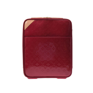 Louis Vuitton Vernis Pegas 45 Rose Andy An Womens Carry Case A Rank LOUIS VUITTON Used Ginza